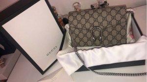 Gucci Borsetta marrone-grigio-grigio