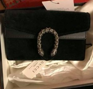 Gucci Clutch black leather