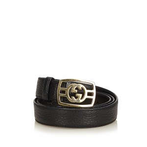 Gucci Double-G Leather Belt