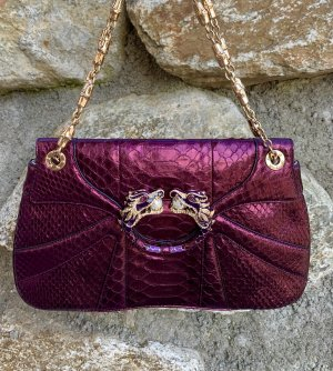 Gucci Dragon Python Tasche