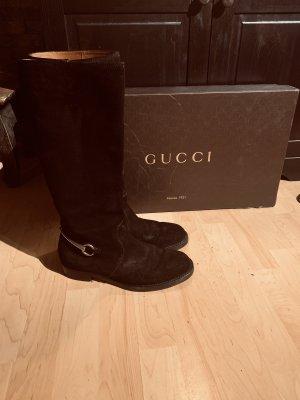 Gucci Botas estilo militar negro
