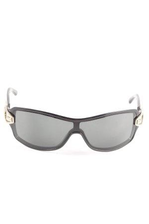 Gucci Angular Shaped Sunglasses black elegant