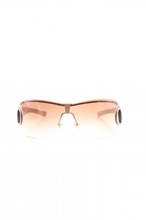 Gucci eckige Sonnenbrille nude Casual-Look