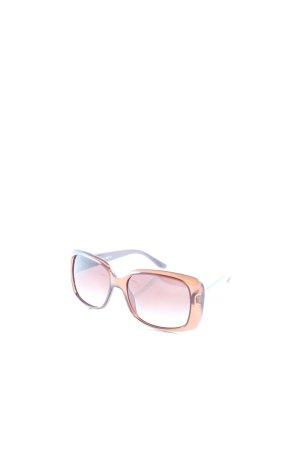 Gucci eckige Sonnenbrille braun klassischer Stil