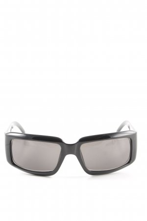 Gucci eckige Sonnenbrille schwarz Casual-Look