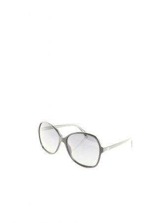 Gucci eckige Sonnenbrille schwarz klassischer Stil