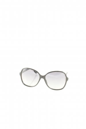 Gucci Hoekige zonnebril zwart klassieke stijl