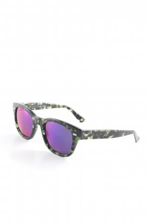Gucci Angular Shaped Sunglasses tortoise pattern boyfriend style
