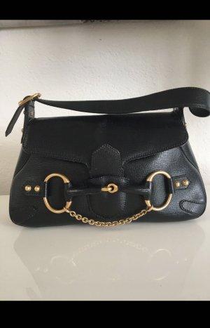 Gucci Bolso negro-color oro