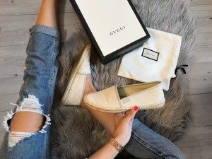 Gucci Slippers multicolored linen