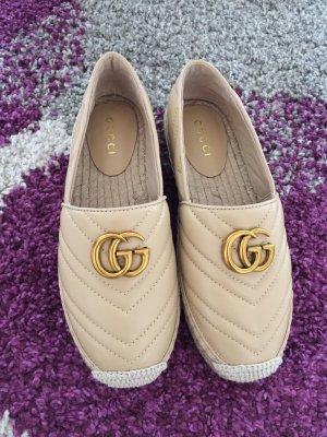 Gucci Espadrilles mit GG Logo