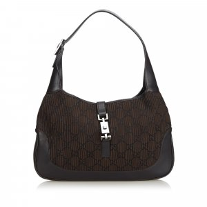 Gucci Fabric Jackie Shoulder Bag