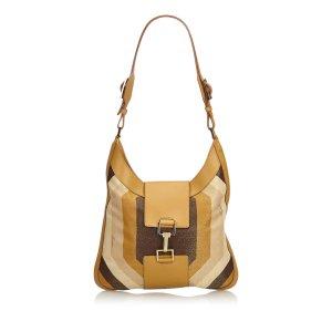 Gucci Fabric Shoulder Bag