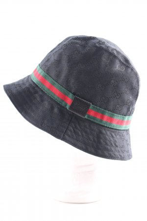 Gucci Bucket Hat quilting pattern casual look