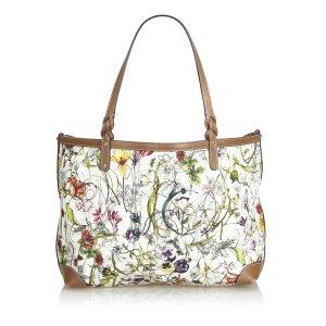 Gucci Flora Craft Tote Bag