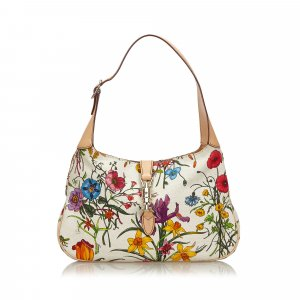 Gucci Flora New Jackie Shoulder Bag