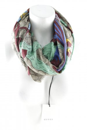 "Gucci Fringed Scarf ""GG Jubilee Print """