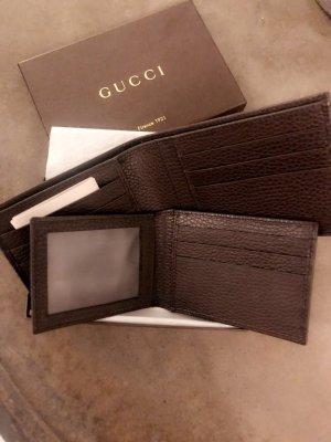 Gucci Portefeuille brun-brun noir