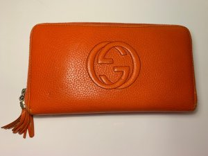 Gucci Geldbeutel Clutch Orange