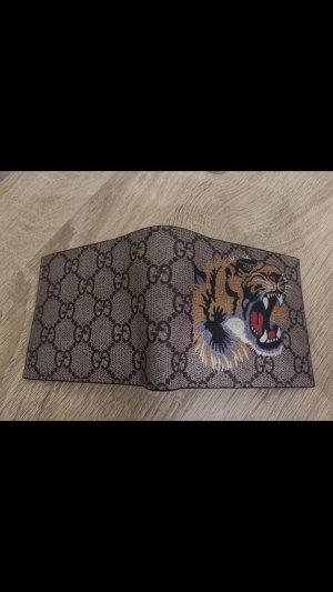 Gucci Geldbeutel GG Supreme mit Tigerdruck