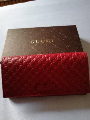 Gucci Geldbeutel rot original