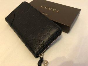 Gucci Portafogli nero-oro Pelle