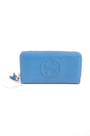 Gucci Geldbörse blau klassischer Stil