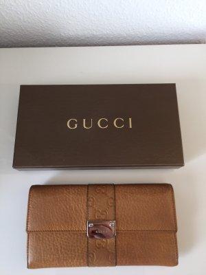 Gucci Wallet dark orange