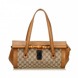 Gucci GG Bamboo Bullet Shoulder Bag