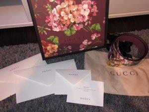 Gucci Cintura di pelle multicolore Pelle