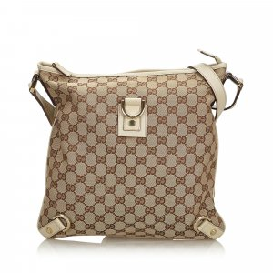 Gucci GG Canvas Abbey D-Ring Crossbody Bag