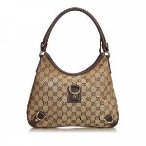 Gucci GG Canvas Abbey Shoulder Bag