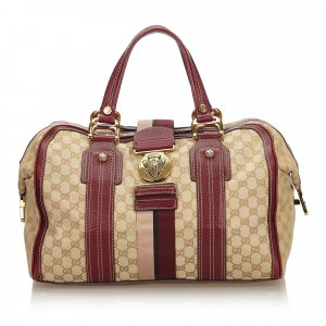 Gucci GG Canvas Aviatrix Handbag