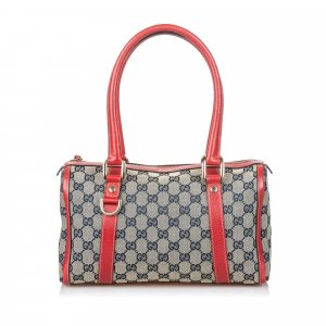 Gucci GG Canvas Boston Bag