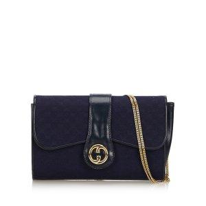 Gucci GG Canvas Chain Shoulder Bag