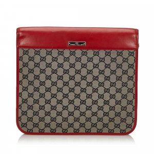 Gucci GG Canvas Clutch Bag