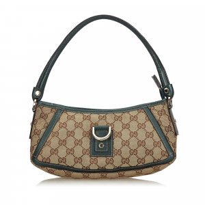 Gucci GG Canvas D-Ring Abbey Baguette