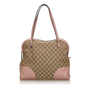 Gucci GG Canvas Dome Shoulder Bag