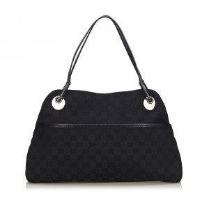 Gucci GG Canvas Eclipse Handbag