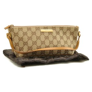 Gucci GG Canvas Hand Pouch