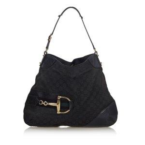 Gucci GG Canvas Hasler Hobo Bag
