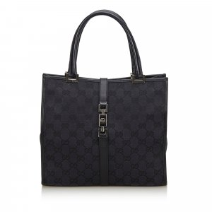 Gucci GG Canvas Jackie Handbag