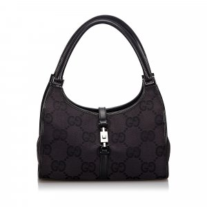Gucci GG Canvas Jackie Shoulder Bag