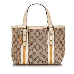 Gucci GG Canvas Jolicoeur Tote Bag
