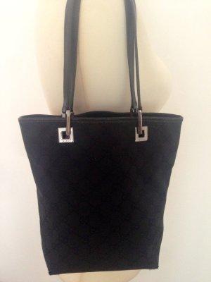 GUCCI GG canvas / leather Tote bag 31244