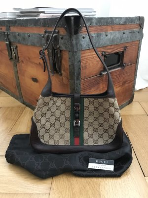 "Gucci GG Canvas Mini ""Jackie Hobo"""