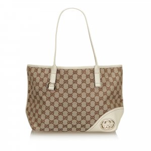 Gucci GG Canvas New Britt Tote