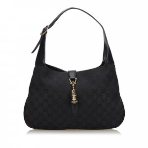 Gucci GG Canvas New Jackie Shoulder Bag