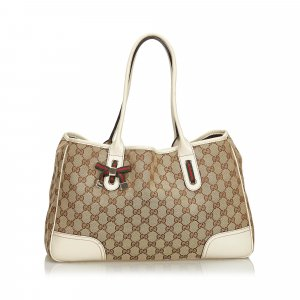 Gucci GG Canvas Princy Tote Bag