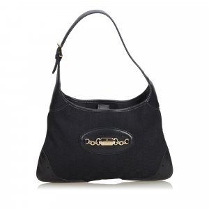 Gucci GG Canvas Punch Shoulder Bag